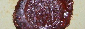 Ältestes bekanntes Siegel der Stadt Vörden