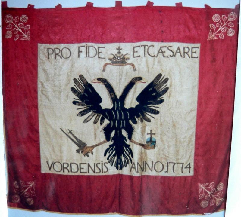 Erweiterung des Kleinods der Schützengesellschaft und eine neue Fahne