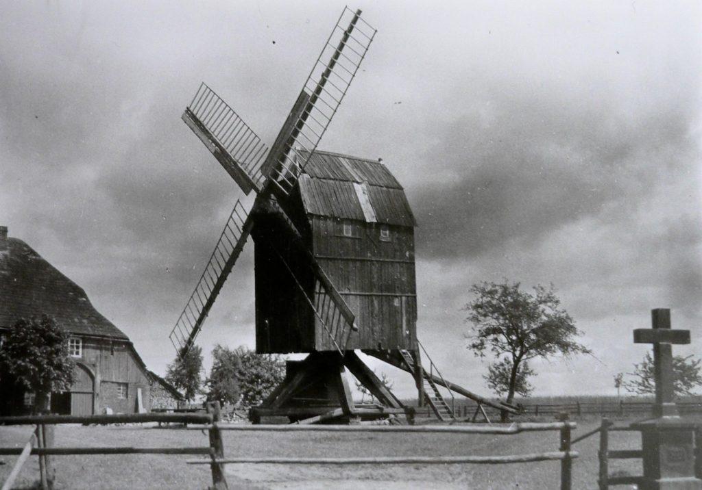 Brand der Vördener Windmühle