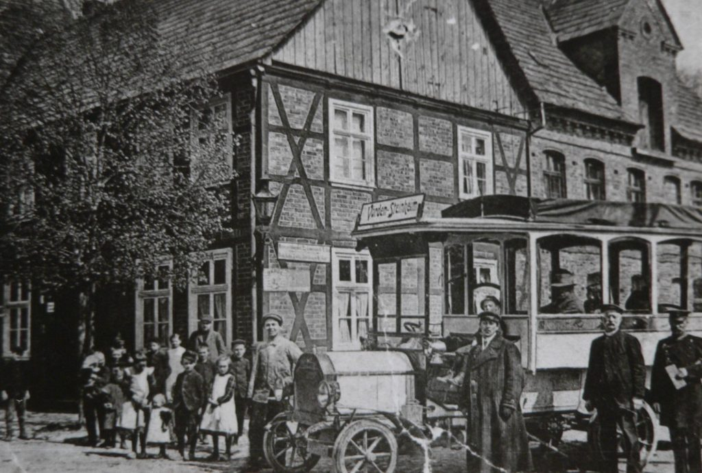 Erste Omnibusverbindungen von und nach Vörden