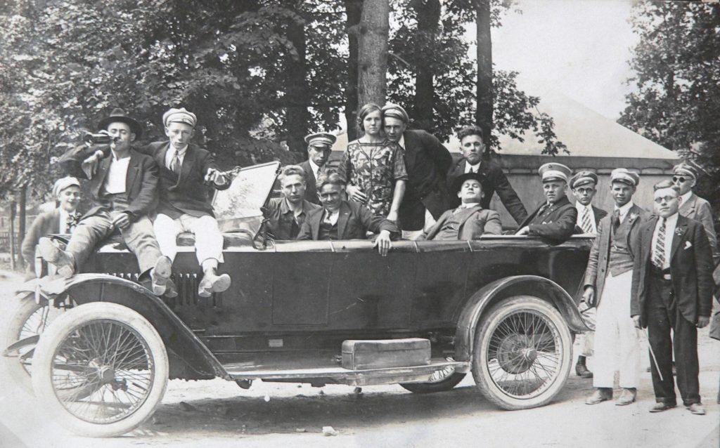 Erstes Auto in Vörden